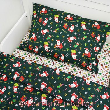новогодний комплект детского постельного белья