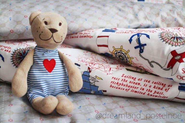 детское постельное белье заказать