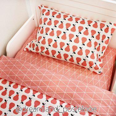 Комплект белья розовые груши