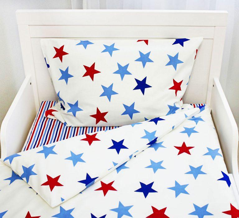 детское постельное белье яркие звезды 2