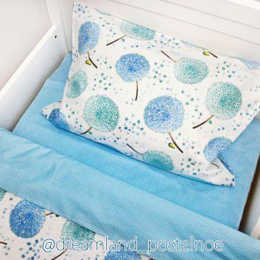 постельное белье с одуванчиками