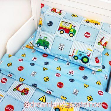 детское постельное дорожное движение