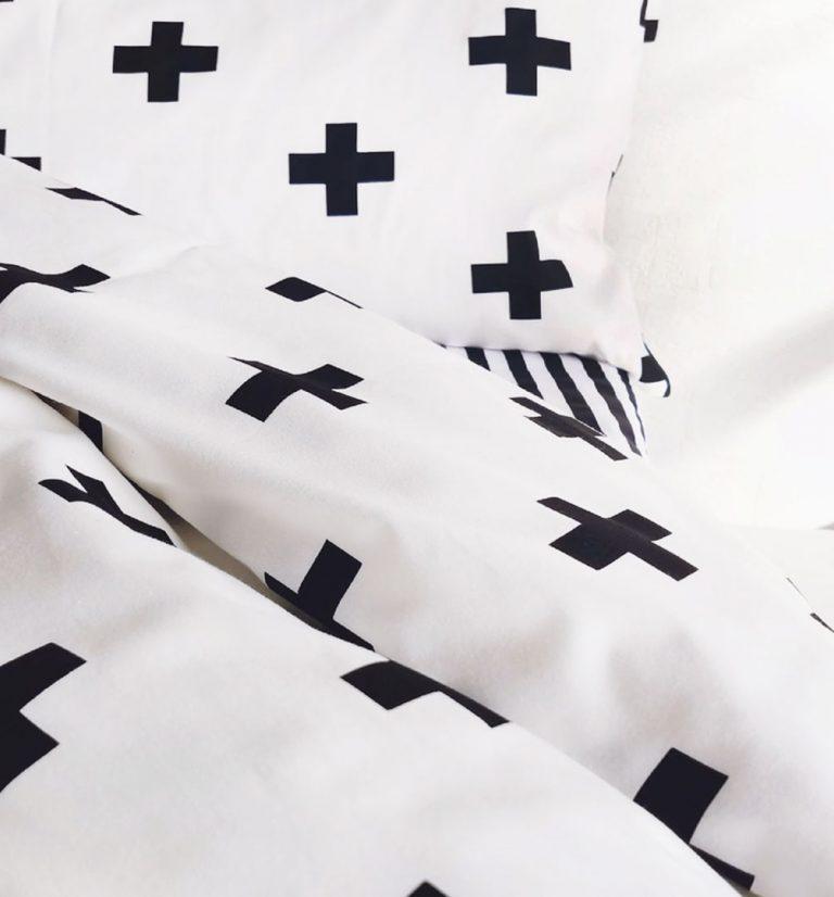 детское постельное белье минимализм