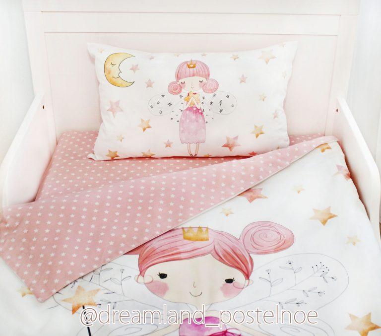 детское постельное белье феечка