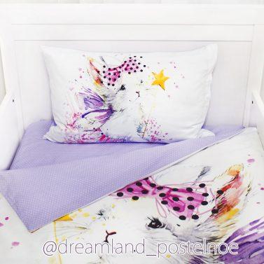постельное белье зайка фея