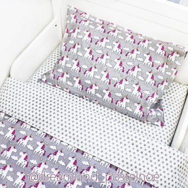 постельное белье с единорогами
