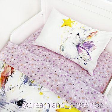 постельное белье с зайкой