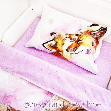 постельное белье с лисой